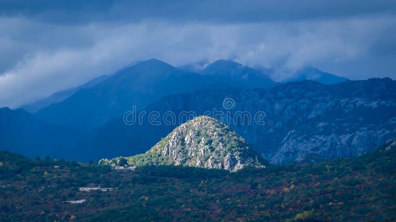montenegro royalty-vrije stock afbeelding