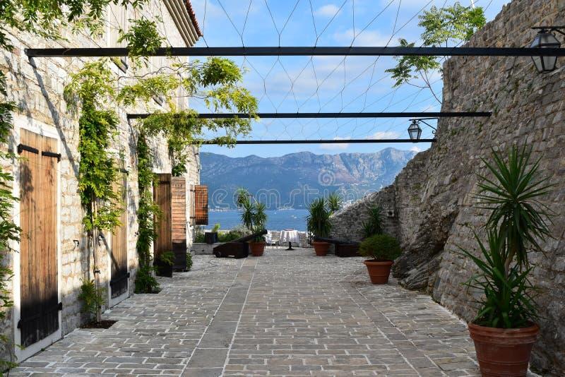 Montenegro Baai stock afbeelding