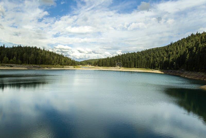 Montenegro. Black Lake. Durmitor National Park royalty free stock photography