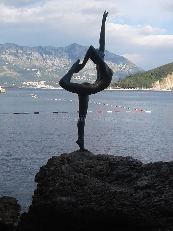 Montenegro, Budva royalty-vrije stock fotografie