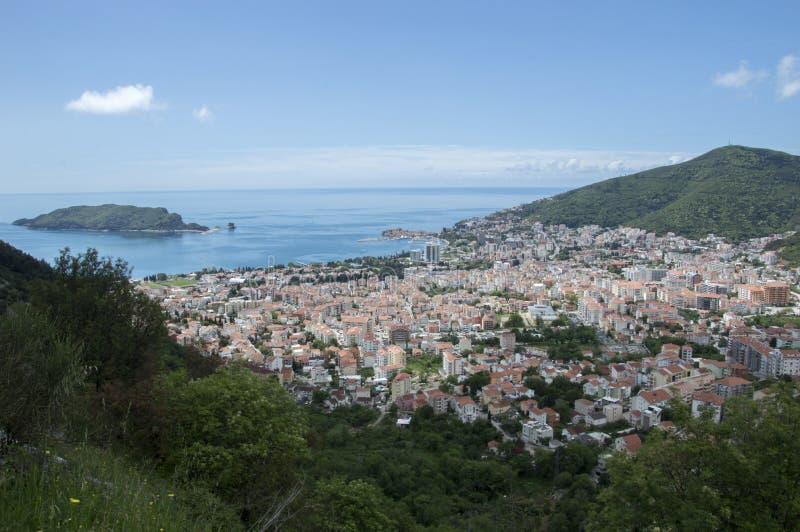 Montenegro, Budva imagen de archivo