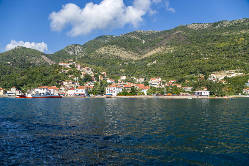 Download Montenegro. City On The Banks Of The Bay Of Kotor Stock Image - Image of town, landscapes: 39503687