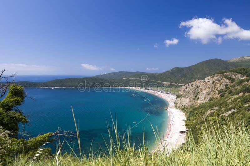 Montenegro coast stock photos