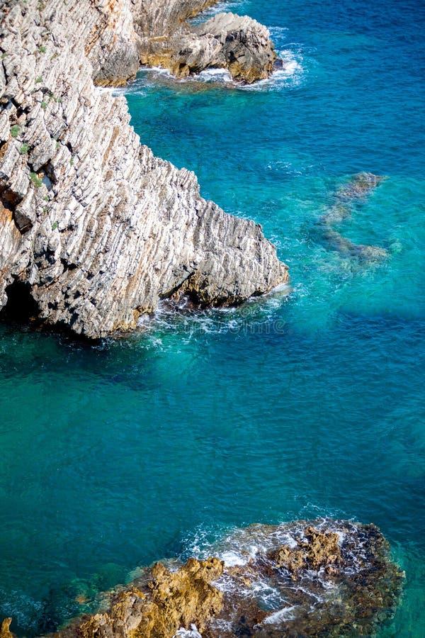 Montenegro Coast Royalty Free Stock Image