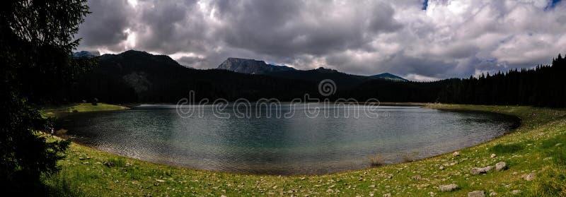 Montenegro Czarny jezioro Durmitor Park Narodowy obraz stock