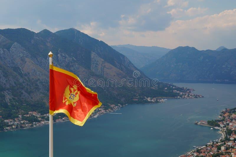 Download Montenegro flag stock image. Image of wave, castle, background - 30019571