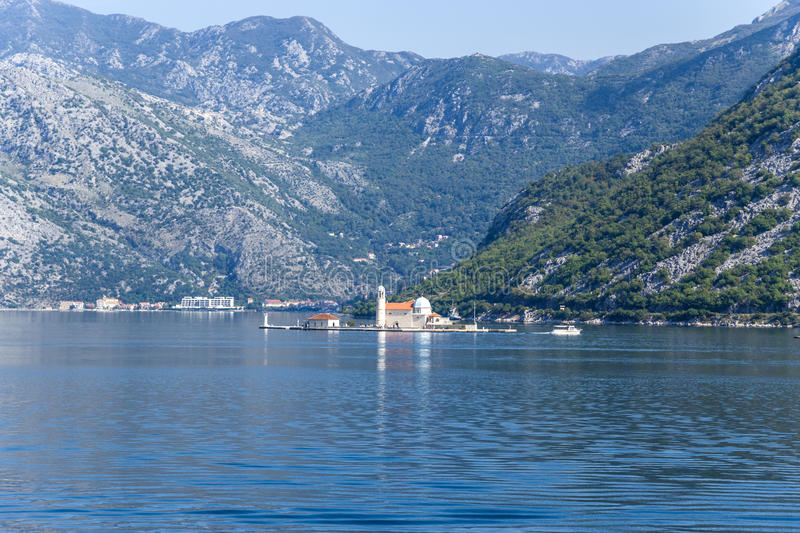 Download Montenegro. Island Of Our Lady On The Rocks Stock Image - Image of kotor, adriatic: 39504189