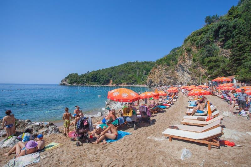 Montenegro Juni 2014 arkivfoto