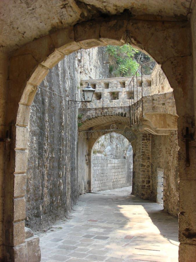Montenegro. Kotor fotografia de stock
