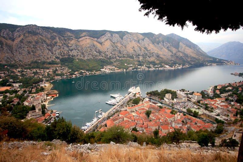 Montenegro. Kotor. fotografia de stock
