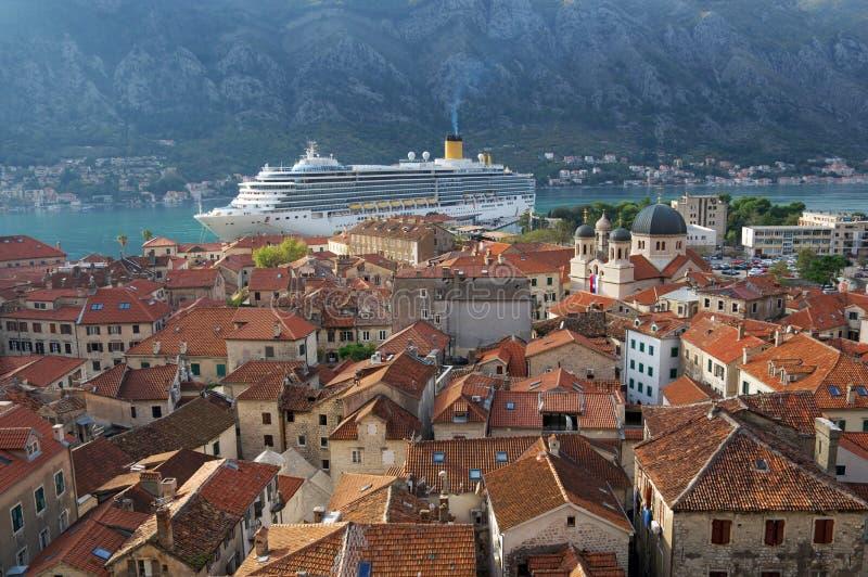 Montenegro, Kotor bay, Kotor - old town, Church St. Nicholas royalty free stock photos