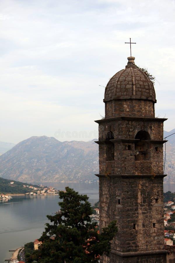 Montenegro. Kotor. Church royalty free stock image