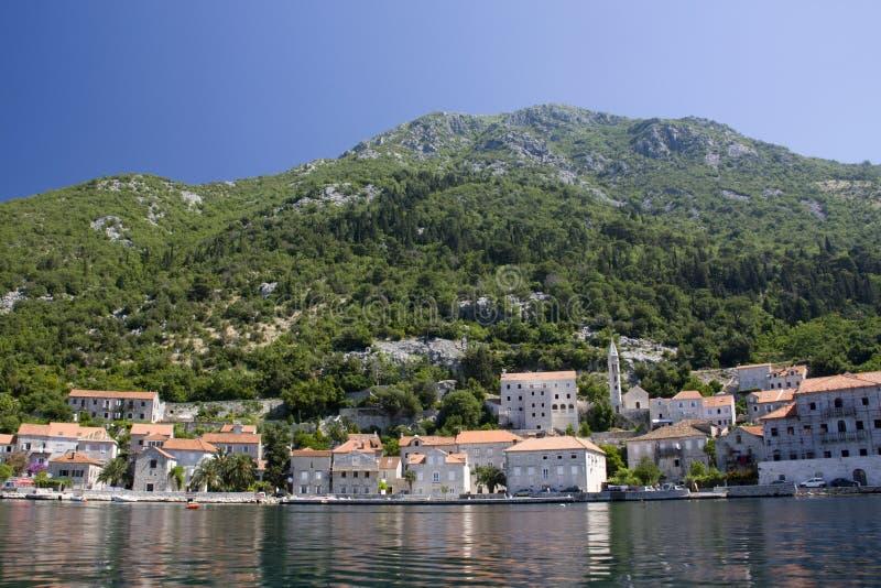 Montenegro-Landschaft stockfotografie