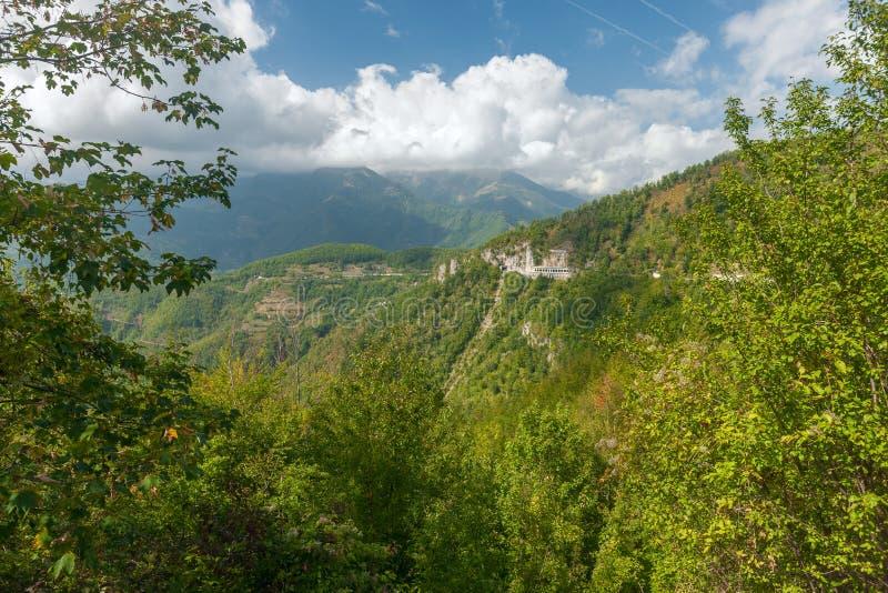 montenegro Montagne fotografia stock
