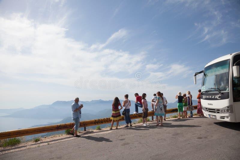 Montenegro reis stock fotografie