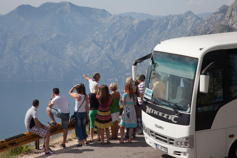Montenegro reis royalty-vrije stock foto
