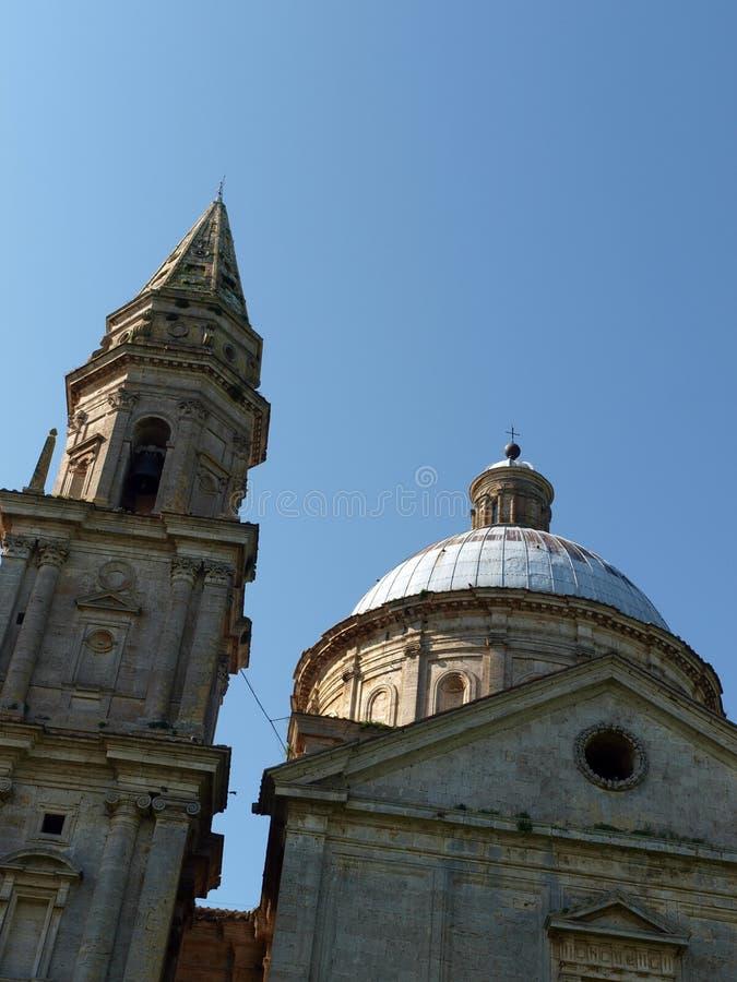 Montepulciano. The Sanctuary Of The Madonna Di San Biagio, Montepulciano, Tuscany,Italy stock photos