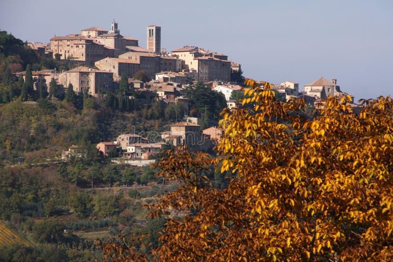 Montepulciano fotografia royalty free