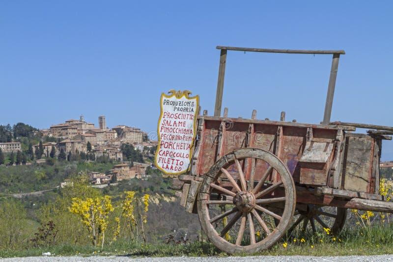 Montepulciano стоковая фотография rf