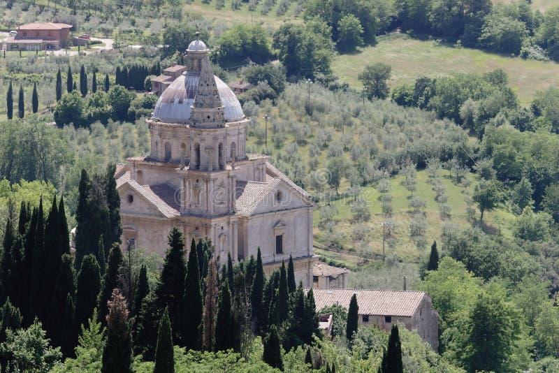 Montepulciano - la Toscane images libres de droits