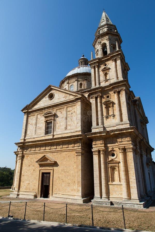 Montepulciano. The Sanctuary Of The Madonna Di San Biagio, Montepulciano, Tuscany, Italy stock photo