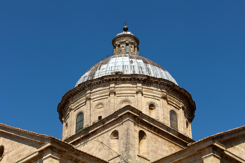 Montepulciano. The Sanctuary Of The Madonna Di San Biagio, Montepulciano, Tuscany, Italy royalty free stock images