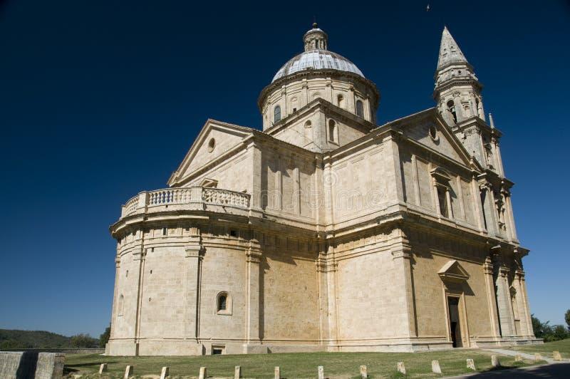 Montepulciano, Tuscany, Italy. Madonna di San Biagio in Montepulciano, Tuscany, Italy royalty free stock photography
