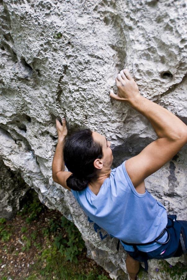 Monter de grimpeur image libre de droits