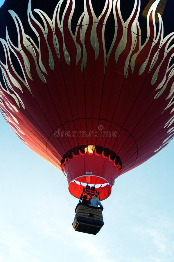 Monter en ballon 4 photo stock