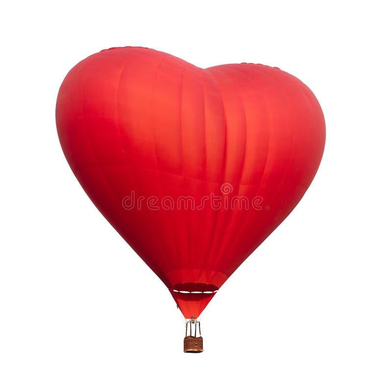 Monter en ballon de coeur photo libre de droits
