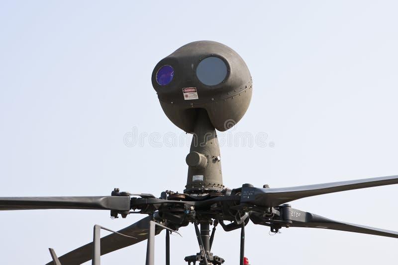monterad sight t för e mast arkivbilder