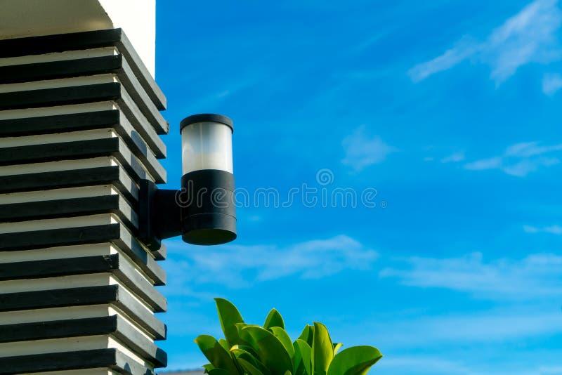 Monterade stilfulla lampor arkivfoton