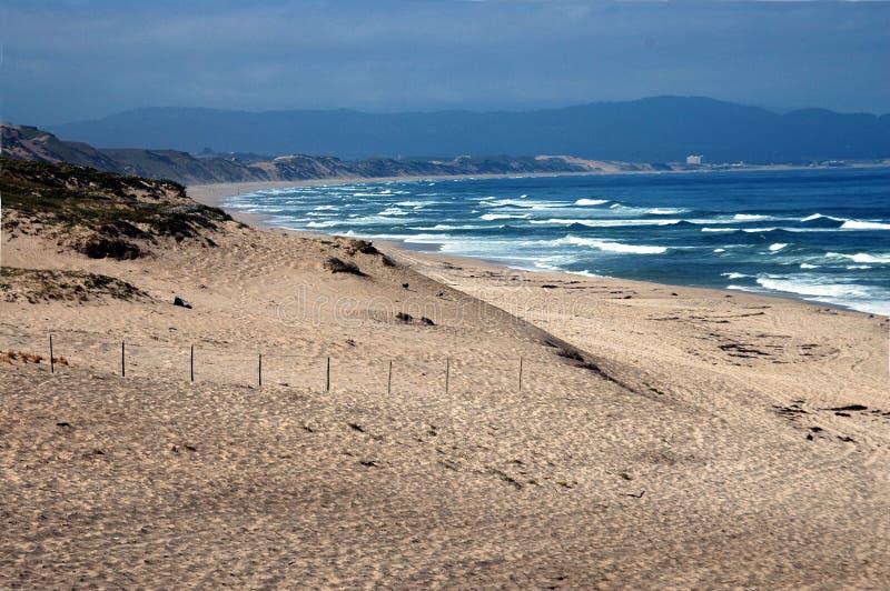 Monterey Beach Stock Photography