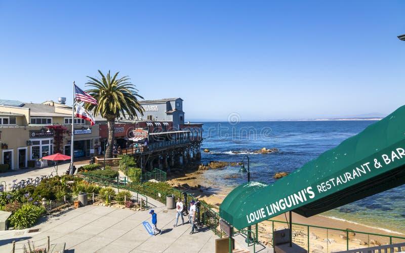 Monterey-Bucht, Halbinsel, Monterey, Kalifornien, die Vereinigten Staaten von Amerika, Nordamerika stockfoto
