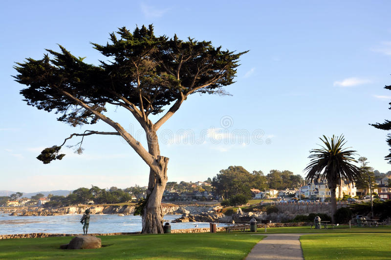 Monterey Californië stock afbeelding