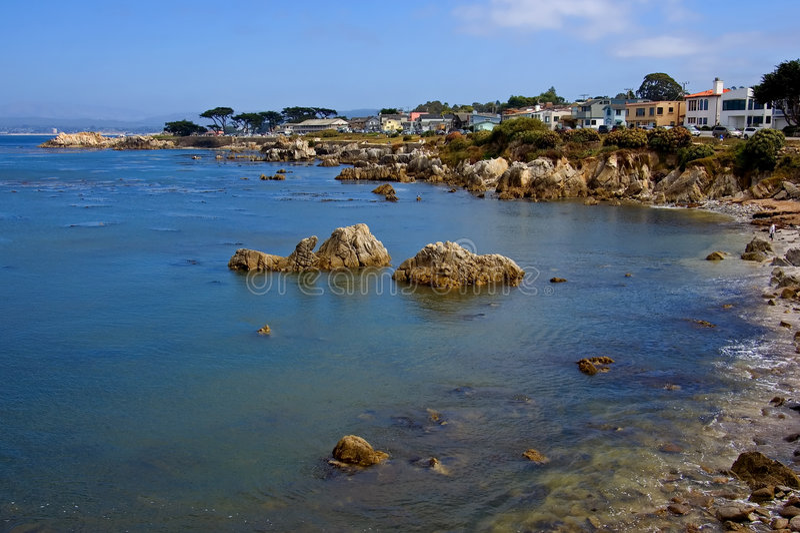 Monterey California fotos de archivo libres de regalías