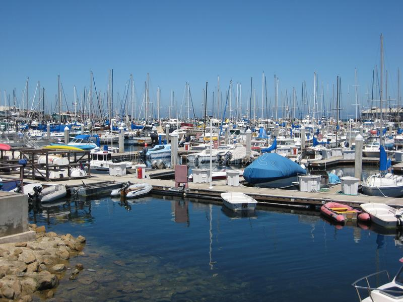 Monterey-Jachthafen stockfotos