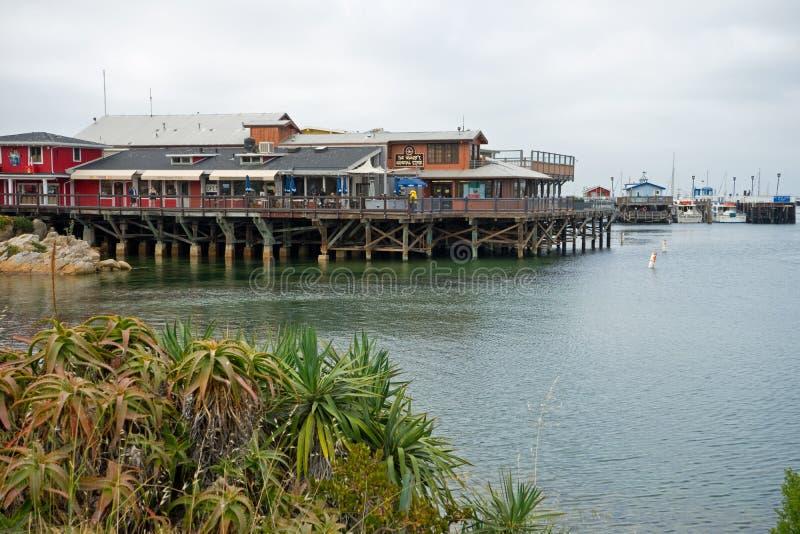 Monterey molo fotografia stock
