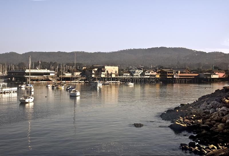 Download Monterey's Shoreline stock photo. Image of monterey, businesses - 9739740