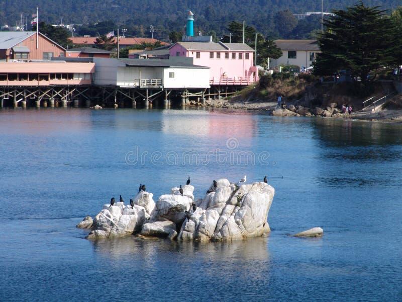 Monterey-Schacht lizenzfreies stockbild