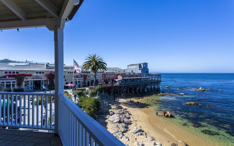 Monterey zatoka, półwysep, Monterey, Kalifornia, Stany Zjednoczone Ameryka, Północna Ameryka fotografia stock