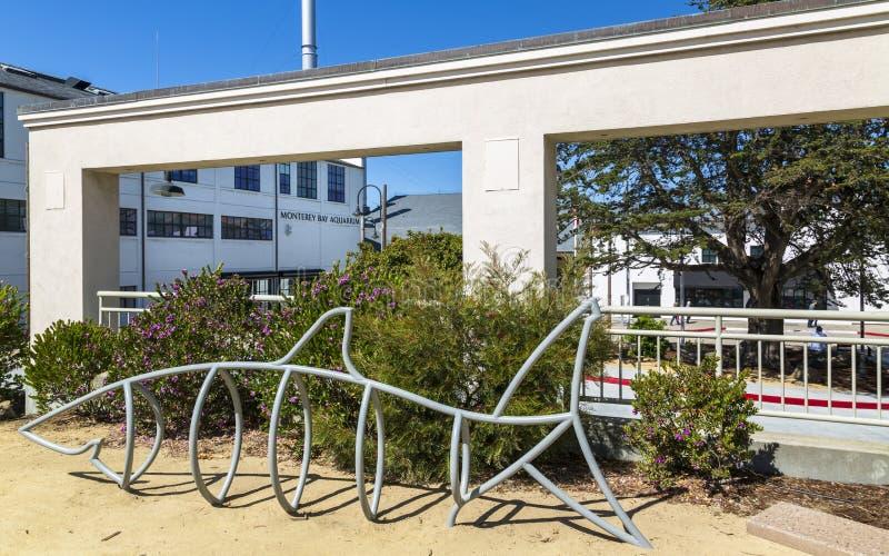 Monterey zatoki akwarium, Monterey zatoka, półwysep, Monterey, Kalifornia, Stany Zjednoczone Ameryka, Północna Ameryka zdjęcia stock