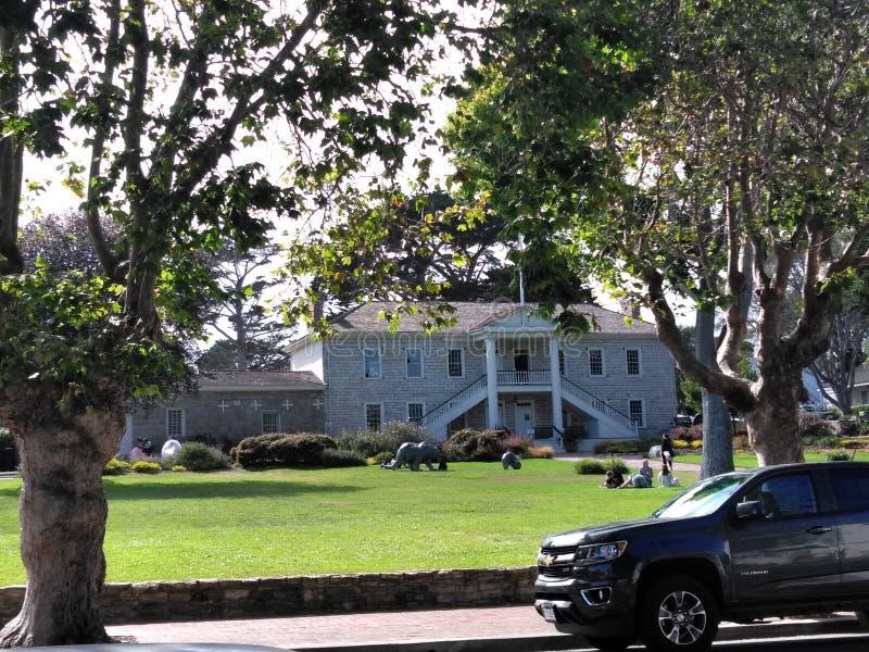 Monterey zatoki dom zdjęcia royalty free