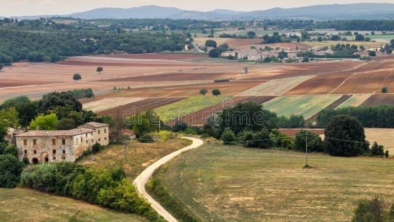 Monteriggioni, μεσαιωνικό χωριό στην Τοσκάνη, Ιταλία στοκ εικόνες με δικαίωμα ελεύθερης χρήσης