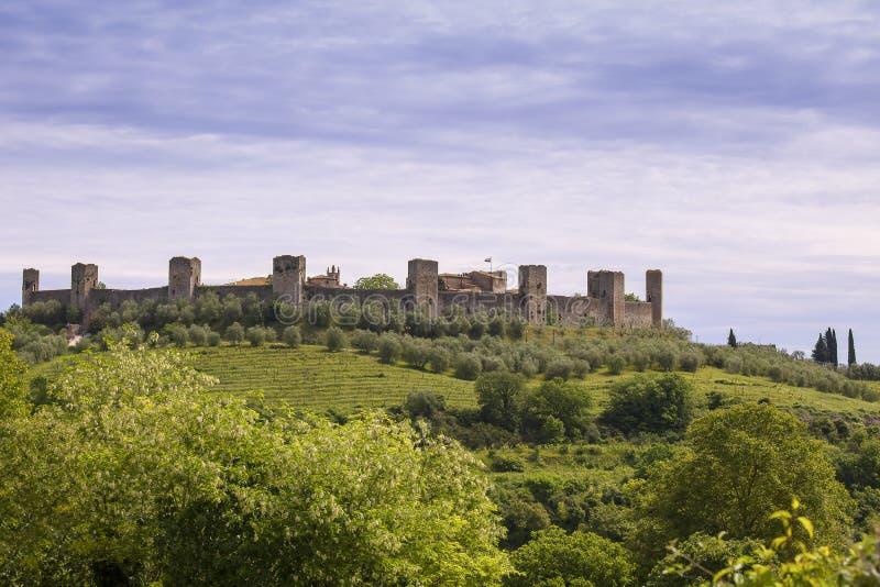 Monteriggioni стоковые изображения rf