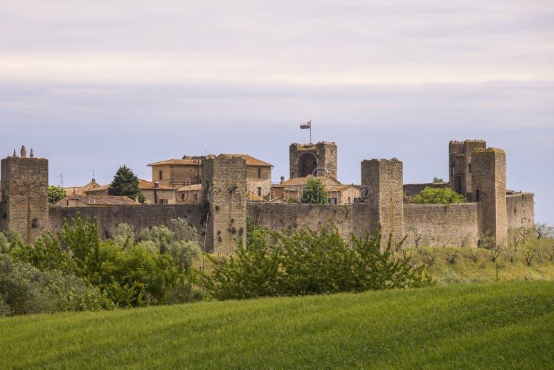 Monteriggioni стоковое фото