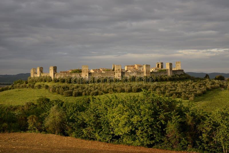 Monteriggioni royalty free stock photography