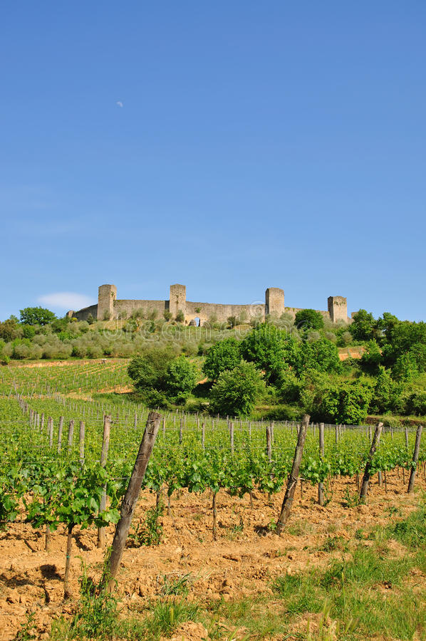Download Monteriggioni,Tuscany Royalty Free Stock Photos - Image: 23329508