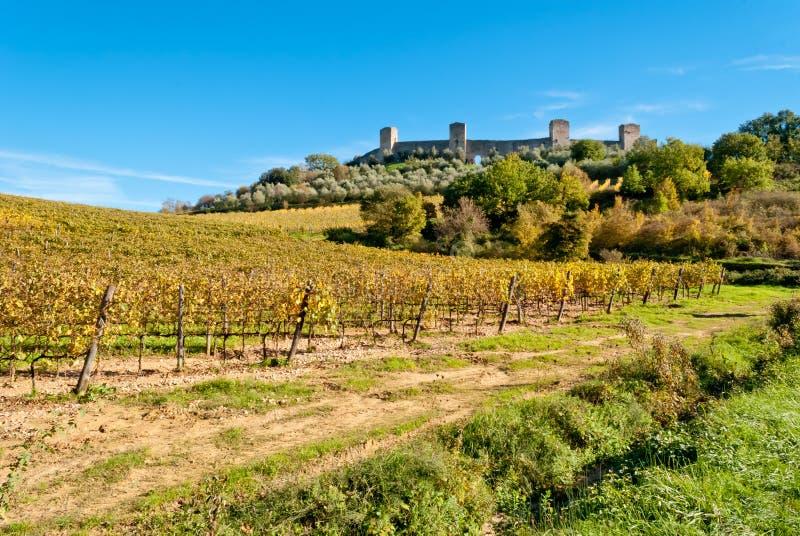 Monteriggioni, Tuscany, Italy Stock Photo