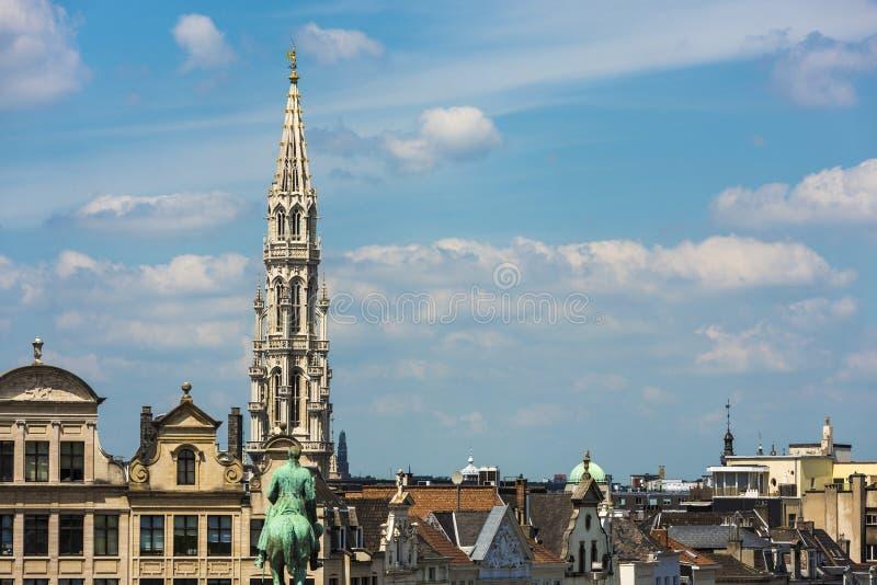 Montering av konsterna i Bryssel, Belgien royaltyfri foto